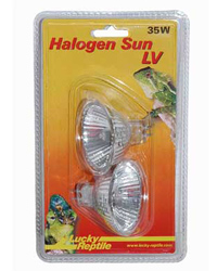 Picture of Lucky Reptile Halogen Sun LV 2 x 35W
