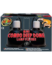 Zoo Med Mini Deep Dome Combo 2 Pack Light Fittings