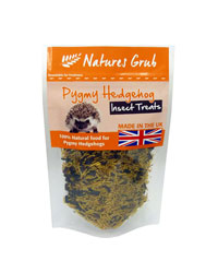 Picture of Natures Grub Pygmy Hedgehog Insect Treat 35g