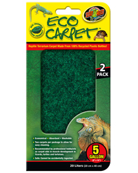 Picture of Zoo Med Eco Carpet 5 Gallon 20 x 40 cm - 2 Pack