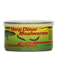 Picture of Lucky Reptile Herp Diner Mealworms with Calcium