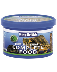 Picture of King British Turtle Terrapin Food 80g