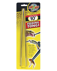 Picture of Zoo Med Stainless Steel Feeding Tongs 10 Inches