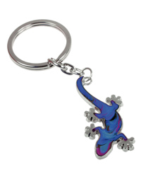 Picture of Blue Bug Mood Keyring Gecko