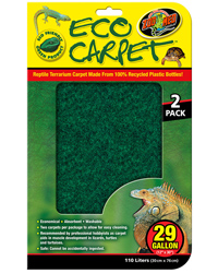Picture of Zoo Med Eco Carpet 29 Gallon 30 x 76 cm - 2 Pack