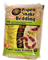 Picture of Zoo Med Aspen Snake Bedding 4.4 Litres