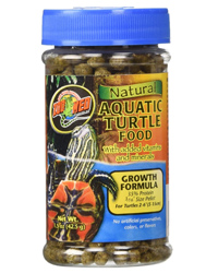 Picture of Zoo Med Aquatic Turtle Food Growth 42g
