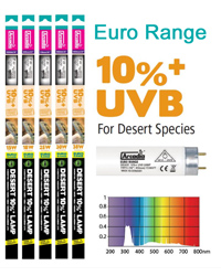 Picture of Arcadia Euro Range Desert 10 Percent T8 18W 24 Inch