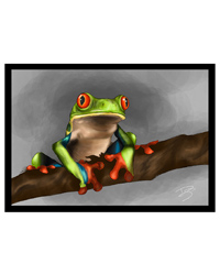 Picture of Creative Chameleon Greetings Card Tree Frog