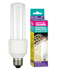 Picture of Arcadia Natural Sunlight Compact Lamp 20W