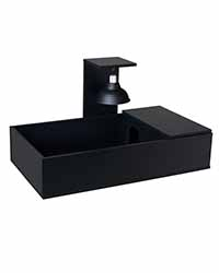 Picture of Tortoise Table Black - 43 x 24 x 9 Inches