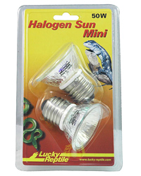 Picture of Lucky Reptile Halogen Sun Mini Spot 2 x 50W