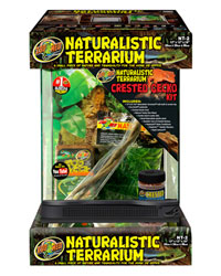 Picture of Zoo Med Naturalistic Terrarium Crested Gecko Kit