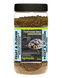 Picture of Komodo Tortoise Diet Fruit and Flower 340g