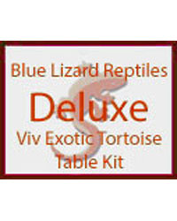 Picture of Blue Lizard Tortoise Starter Kit Deluxe Vivexotic Table