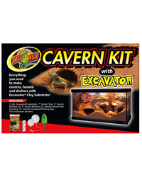Picture of Zoo Med Cavern Kit with Excavator
