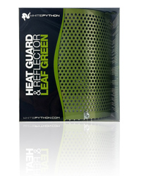 Picture of White Python Heat Guard and Reflector Leaf Green