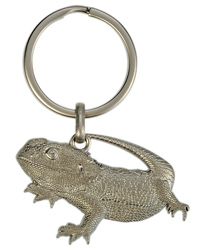 Picture of Blue Bug 3D Keyring - Bearded Dragon