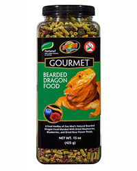 Picture of Zoo Med Gourmet Bearded Dragon Food 425g