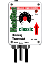Picture of HabiStat HI RANGE Dimming Thermostat 600W White
