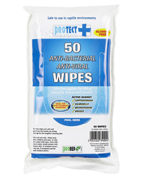 Picture of ProRep Protect Hand and Surface Wipes 50 Pack