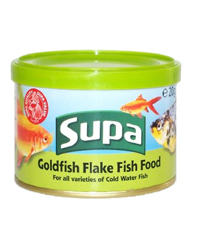 Picture of Supa Goldfish Flake Fish Food 20g
