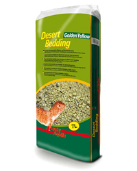 Picture of Lucky Reptile Desert Bedding Golden Yellow 7 Litres