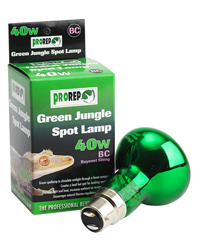 Picture of ProRep Green Jungle Spot Lamp 40W Bayonet
