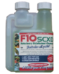 F10 Super Concentrate Xd 100ml Cage Disinfectants