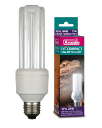 Picture of Arcadia D3 plus Compact Reptile Lamp 23W
