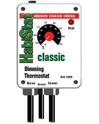 Picture of HabiStat Dimming Thermostat 600W White