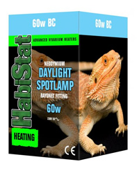 Picture of HabiStat Daylight Spotlamp 60W Bayonet