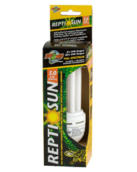 Picture of Zoo Med ReptiSun 5.0 Compact 26W