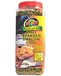 Picture of Zoo Med Bearded Dragon Food Adult 567g