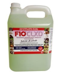 Picture of F10 CLXD Veterinary Disinfectant Cleanser 5 Litres