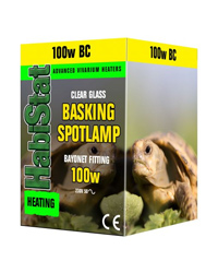 Picture of HabiStat Basking Spotlamp 100W Bayonet