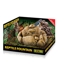 Picture of Exo Terra Reptile Fountain Dish with Pump