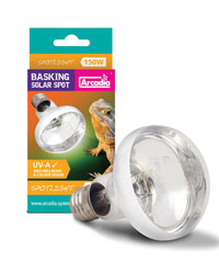 Picture of Arcadia Basking Solar Spot Lamp 150W