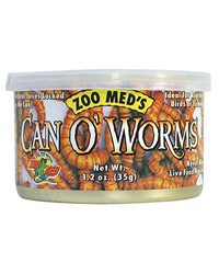 Picture of Zoo Med Can O' Worms 35g