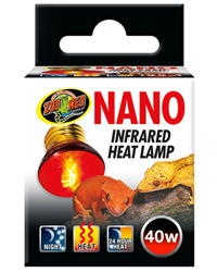 Picture of Zoo Med Nano Infrared Heat Lamp ES 40W