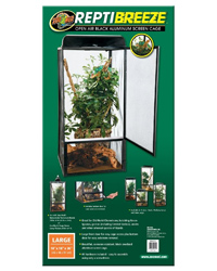 Picture of Zoo Med ReptiBreeze Screen Cage 46 x 46 x 92 cm