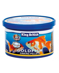 Picture of King British Goldfish Sinking Pellets 140g