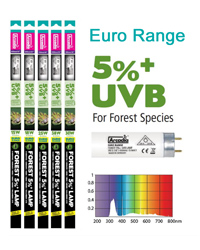 Picture of Arcadia Euro Range Forest 5 Percent T8 30W 36 Inch