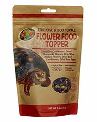Picture of Zoo Med Tortoise Flower Food Topper 40g