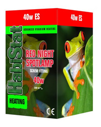 Picture of HabiStat Red Night Spotlamp 40W Screw