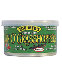 Picture of Zoo Med Can O' Grasshoppers 35g