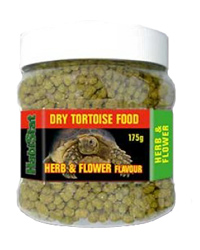 Picture of HabiStat Dry Tortoise Food Herb and Flower 175g