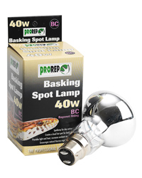 Picture of ProRep Basking Spot Lamp 40W Bayonet