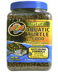 Picture of Zoo Med Aquatic Turtle Food Hatchling 226g