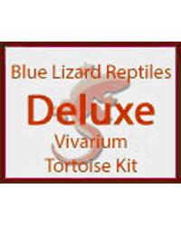 Picture of Blue Lizard Tortoise Starter Kit Deluxe Vivarium